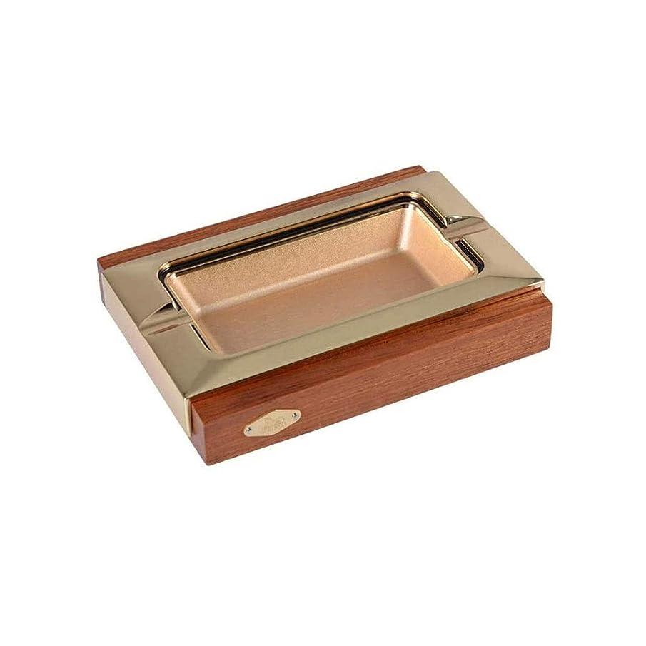 困惑したテープ年TWDYC 手作りの木製シガー灰皿ホームデコレーションデスクトップアクセサリーギフト灰皿は、旅行、テラス、ファミリーに使用することができ