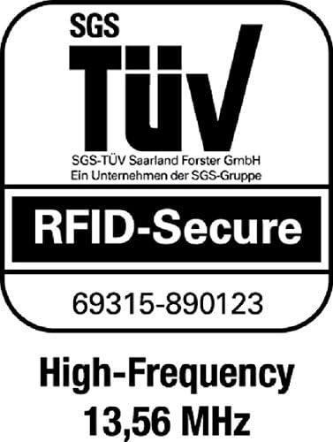 Durable 890123 Kartenhalter Rfid Secure Mono Rfid Schutz Für 1 Karte Packung à 10 Stück Silber Bürobedarf Schreibwaren