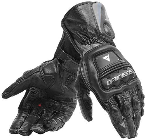 DAINESE STEEL-PRO BLACK ANTHRACITE MOTORCYCLE GLOVES L