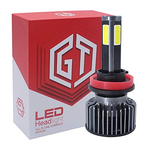 Kit ampoule phare S6LED lampe halogène de remplacement H7 ou ampoule DHI, puce COB conversion automatique de la voiture 12V