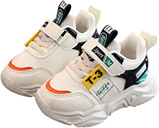 Hopscotch Baby Boys PU Text Print Athletic Shoes - Beige