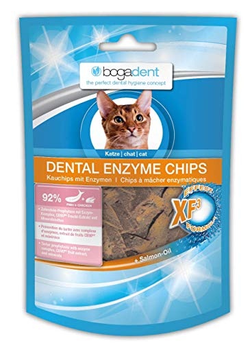 Bogadent Dental Enzyme Chips Fish Katze, 6er Pack (6 x 50 gr)