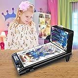 *YDD Màquina de Joc per a nens, Joc de *Pinball electrònic Espacial, màquina de *Pinball de Trencaclosques per a Pares i Fills, Regals per a Festes d'aniversaris per a nens