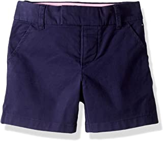 Tommy Hilfiger Adaptive Girls 7185172 Shorts Wiith Velcro® Brand Closure and Magnetic Fly Casual Shorts - Blue