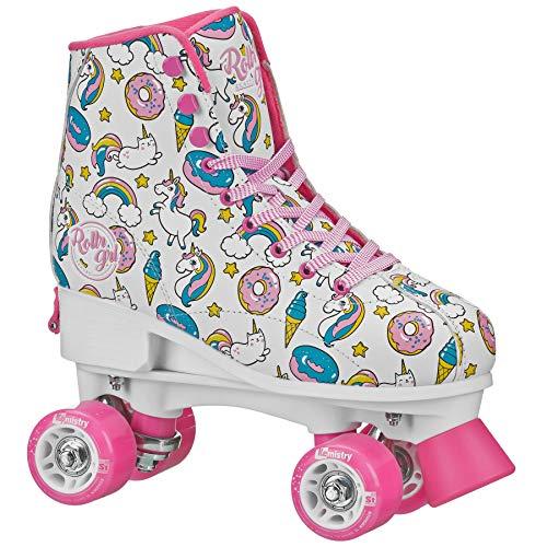 Rollr GRL Ella - Girls White/Pink Adj Medium (3-6)