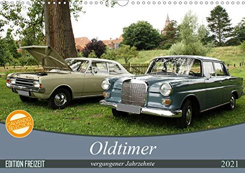 Oldtimer vergangenger Jahrzehnte (Wandkalender 2021 DIN A3 quer)