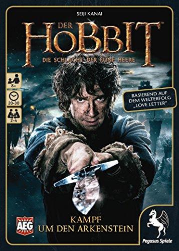 Pegasus Spiele 18226G - Der Hobbit Kampf um den Arkenstein (Love Letter)