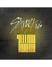 Stray Kids - Clé 2 Yellow Wood [Clé 2 Ver.] (śledzenie provided) – zestaw CD, fotokarta, fotokarta, składany plakat z korzyścią Pre Order Benefit, zestaw dodatkowych naklejek dekoracyjnych, fotokart