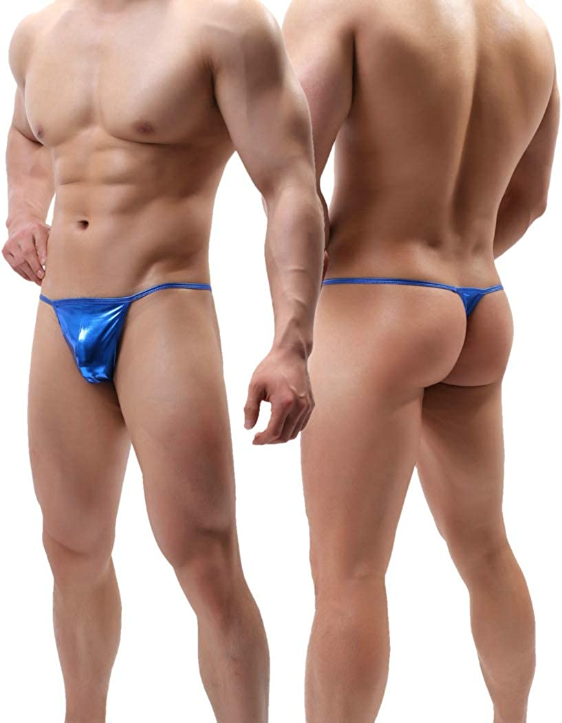 MuscleMate Hot Men's Thong Underwear, Hot Men's Thong G-String Performance Underwear.
