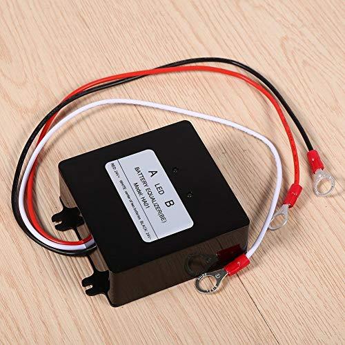 Heitune Sistema Solar 1pcs Balanceador De La Batería Ecualizador Compatible con Plomo-ácido...