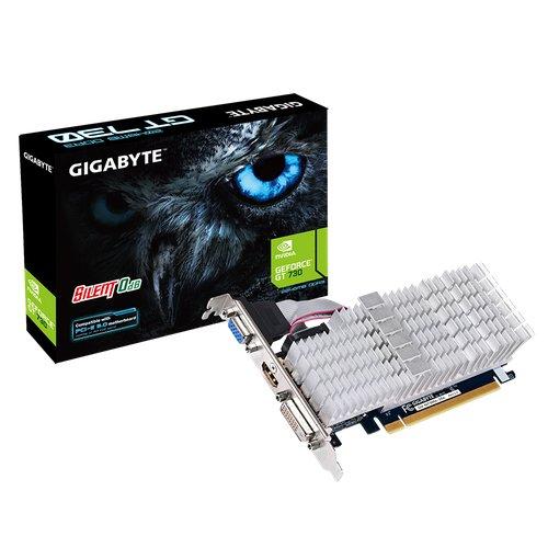 GIGABYTE GeForce GV-N730SL-2GL 64bit PCI-E D-Sub DVI-D HDMI Low Profile passiv