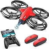 Potensic P7 Mini Drone para niños, Mini Drone con cámara 720P, Modo Batalla súper diseño, Dron WiFi FPV Control...