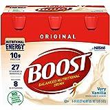 Boost Nutritional Energy Drink, Vanilla, 8 oz, 6 pk