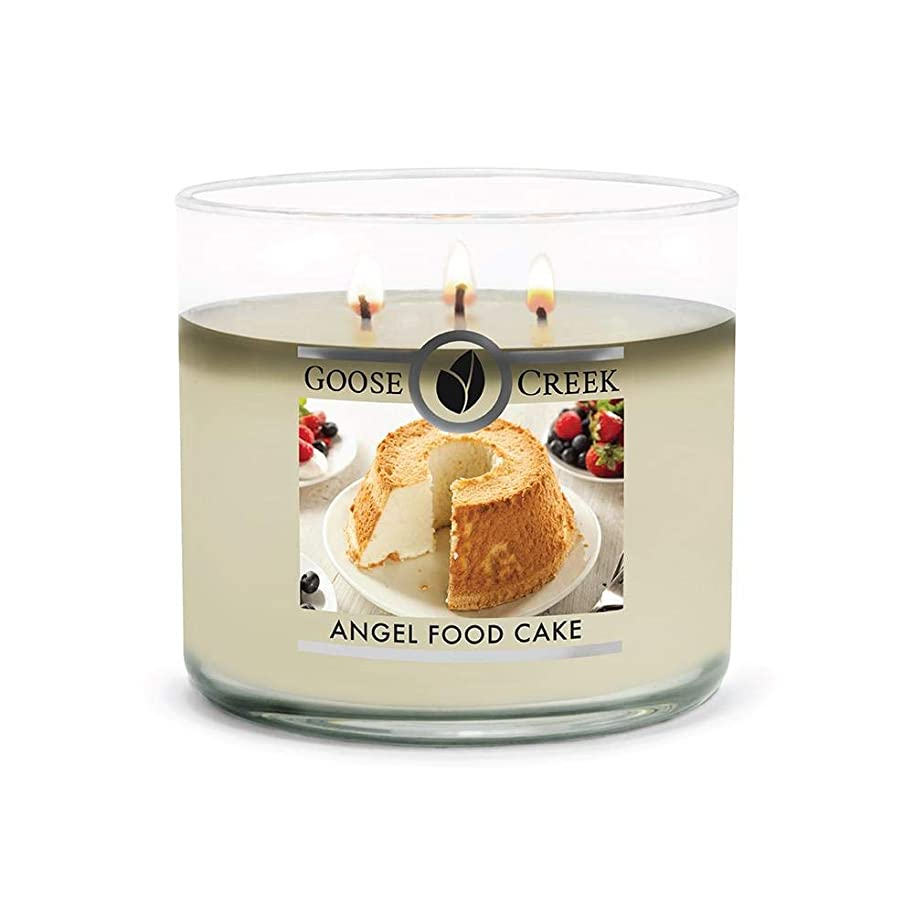 Goose Creek 3-Wick Candle, Angel Food Cake, Highly Scented