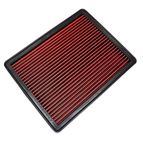 A-Team Performance Engine Air Filter, Washable and Reusable Compatible with 1999-2019 Chevy/GMC Truck and SUV V6/V8 (Silverado, Suburban, Tahoe, Sierra, Yukon, Avalanche)