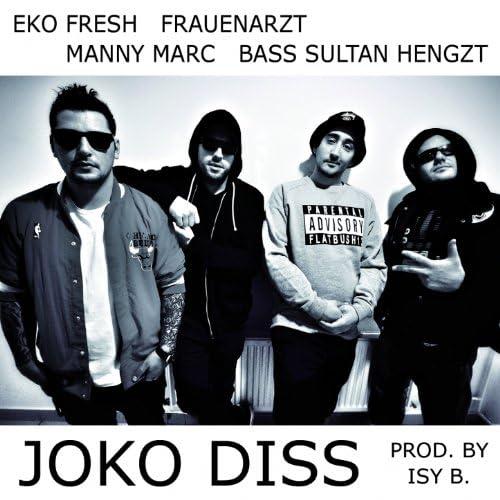 Eko Fresh, Frauenarzt, Manny Marc & Bass Sultan Hengzt