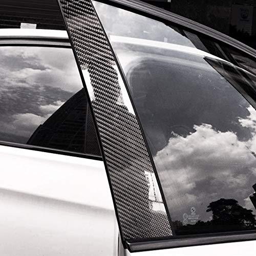 HDCF Carbon Auto Fenster B C Säulen Auto Aufkleber Zierblenden Auto Styling Für w204 C E klasse GLA GLC GLK Zubehör