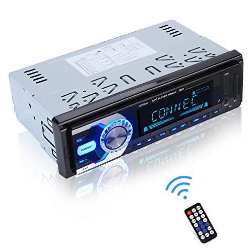 Lettore MP3 Bluetooth per Auto, Lettore HD Hi-Fi, con più Effetti EQ, Supporto di Un Tasto Muto, spegnimento della Memoria, sovraccarico, sovratensione, cortocircuito.