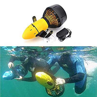 MotorFansClub 300W Diving Sea Scooter Electric Waterproof Underwater Scooter Equipment Fit for Compatible with Adult - Without Battery