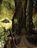 Image of Notebook: fantasy world earth fairyland world universe parallel universe