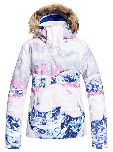 Roxy Jet Ski Se-Veste de Snow pour Femme, Bright White pyren