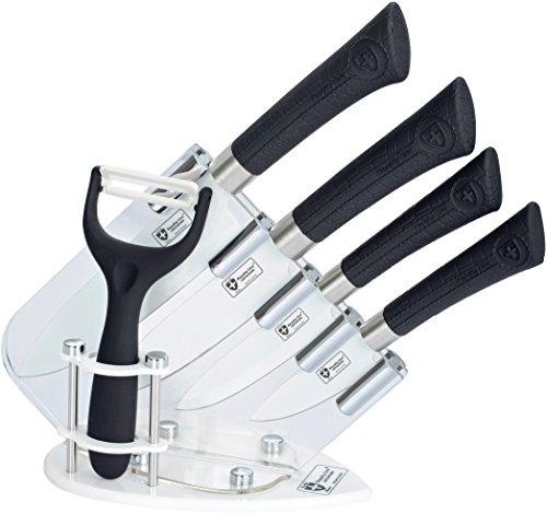 ROYALTY LINE Coffret 6 Couteaux en Titane