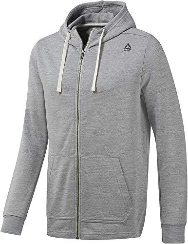 Reebok Te Marble Group FZ Sweatshirt für Herren L skugry