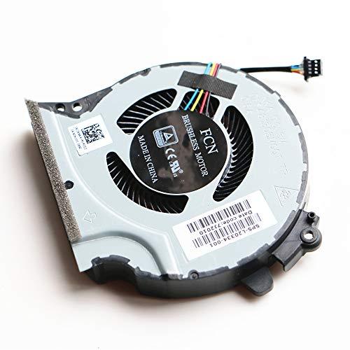Laptop CPU GPU Cooling Fan Compatible with HP Pavilion 15-CXXXX, 15-CX0010CA 15-CX0030NR 15-CX0045NR 15-CX0049NR 5-CX0058WM Series Laptop P/N: L20334-001 L20335-001