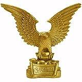 XDYFF Águila Estatua Decorativa de Latón Figura, Pájaro Animales Escultura Oficina En Casa Decoraciones, Regalo De Felicitación De Apertura Adornos,Latón