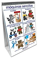 NewPath Learning 34-0126 Pushing Moving and Pulling Curriculum Mastery Flip Chart Set Age 3 to 7 Spanish [並行輸入品]