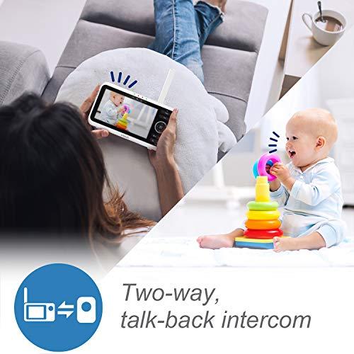 51zf0hfO+UL Best 2000 ft Range Baby Monitors With Longest Range 2021