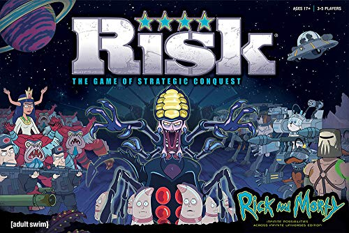 Rick And Morty Risk Bordspel
