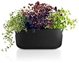 Eva Solo Selfwatering Herb Planter and Organizer (Black)