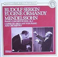 Piano Concerto.1, 2: R.serkin / Ormandy