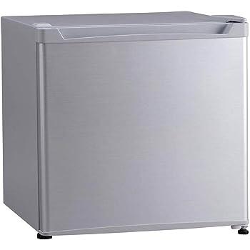 アイリスプラザ 1ドア 冷蔵庫 46L シルバー PRC-B051D-S