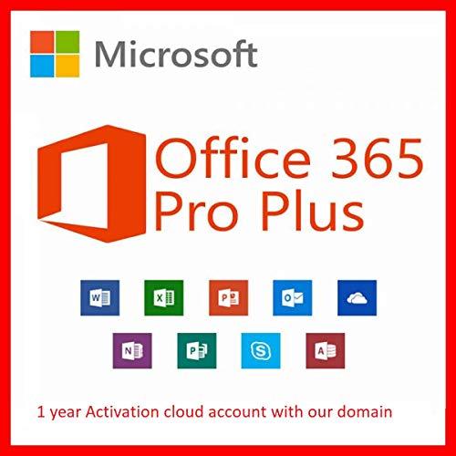 Microsoft Office 365 Pro Plus - Software de licencias y actualizaciones (1, Open Value License (OVL), 1 año(s))