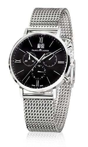 Maurice Lacroix Eliros EL1088-SS002-311-1 Cronografo uomo Data in grande