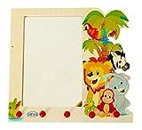 Hess-Spielzeug 30500 - Garderobe mit Spiegel Dschungel