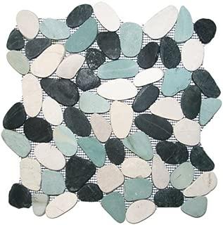 Best pebble tiles on mesh Reviews
