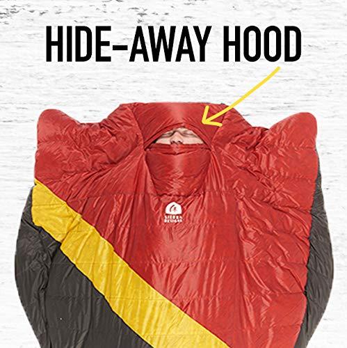Sierra Designs Nitro Quilt 20 Degree Ultralight Sleeping Bag - 800 Fill Camping & Backpacking Sleeping Bag