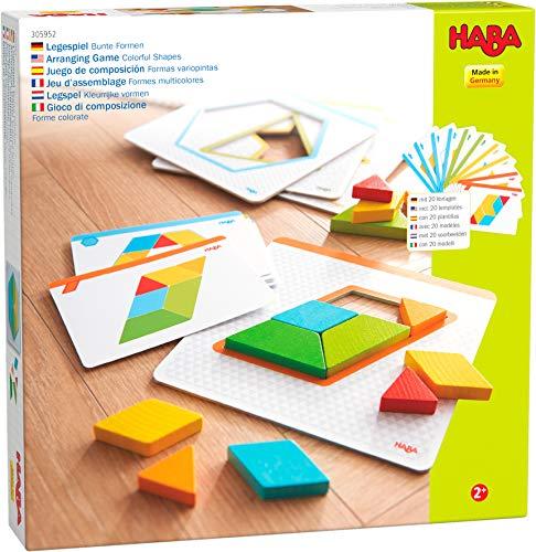 HABA- Juego de composición Formas Variopintas, Multicolor (305952)