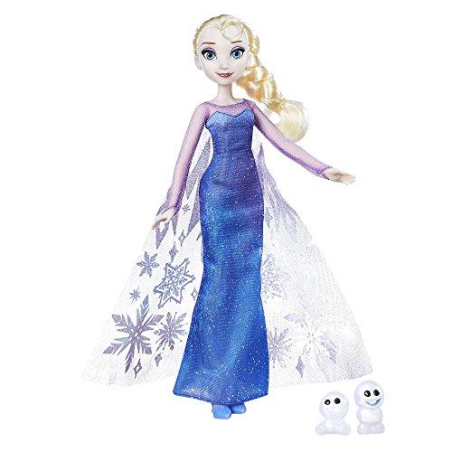 Disney Frozen - Bambola Northern Lights Elsa & Snowgie , B9201ES0