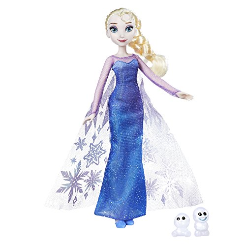 Disney Frozen - Bambola Northern Lights Elsa & Snowgie , B9201ES0