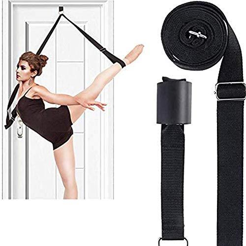 Yoga Gurt, Beinstrecker Stretch-Band, Fitnessbänder Set, Yogagurt mit Verschluss aus Metall | Yoga Strap Stretch Band, 100{e124dfa098c54285c48add64c5e4d4e08eb8c1b5179a2238a0987f1c3747297d} Bio Baumwolle, Stretching Equipment für Yoga, Ballett & Gymnastik Training