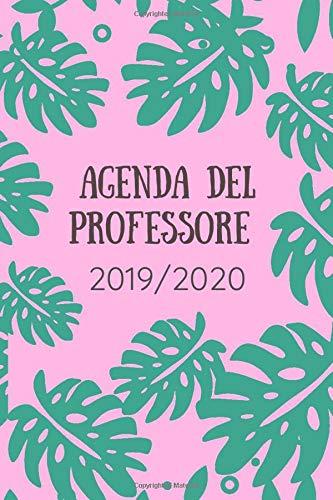 Agenda del professore 2019/2020: Agenda scuola, Agenda Università, Agenda settimanale, Diario scolastico, Agenda giornaliera, calendario, programma ... planner, orario lezioni,organizer