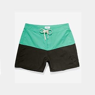 SATURDAYS SURF(サタデーズサーフ) ENNIS BOARDSHORTS(ボードショーツ)[GREEN/BLACK(グリーン/ブラック)][緑/黒色][水着/海水パンツ/短パン][メンズ/男性用]