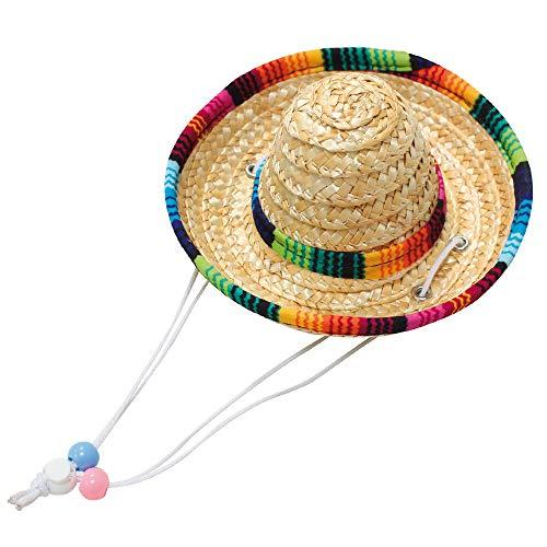 Croci Cappello di Paglia per Cani Sombrero, M