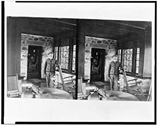 Photo: Andrew Carnegie,golf cottage, Westchester Co., NY 1911