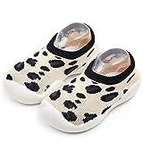 Fossen Kids Navidad Calcetines Bebe Niña Antideslizantes Algodon Imprimir de Animales - Calcetines Socks para Recién Nacido Niñas Niños de Dibujos Animados - Baby Socks Slipper Shoes Boots,1 Pares