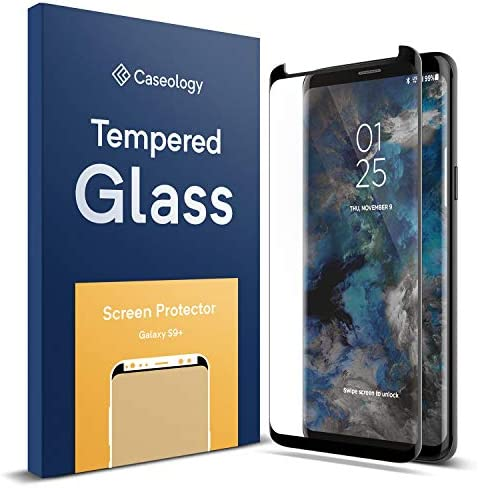 Caseology Screen Protector for Galaxy S9 Plus Tempered Glass (2018) – 1 Pack